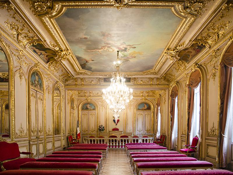 Mairie du 8e arrondissement - Salle des Mariages - Paris 8e