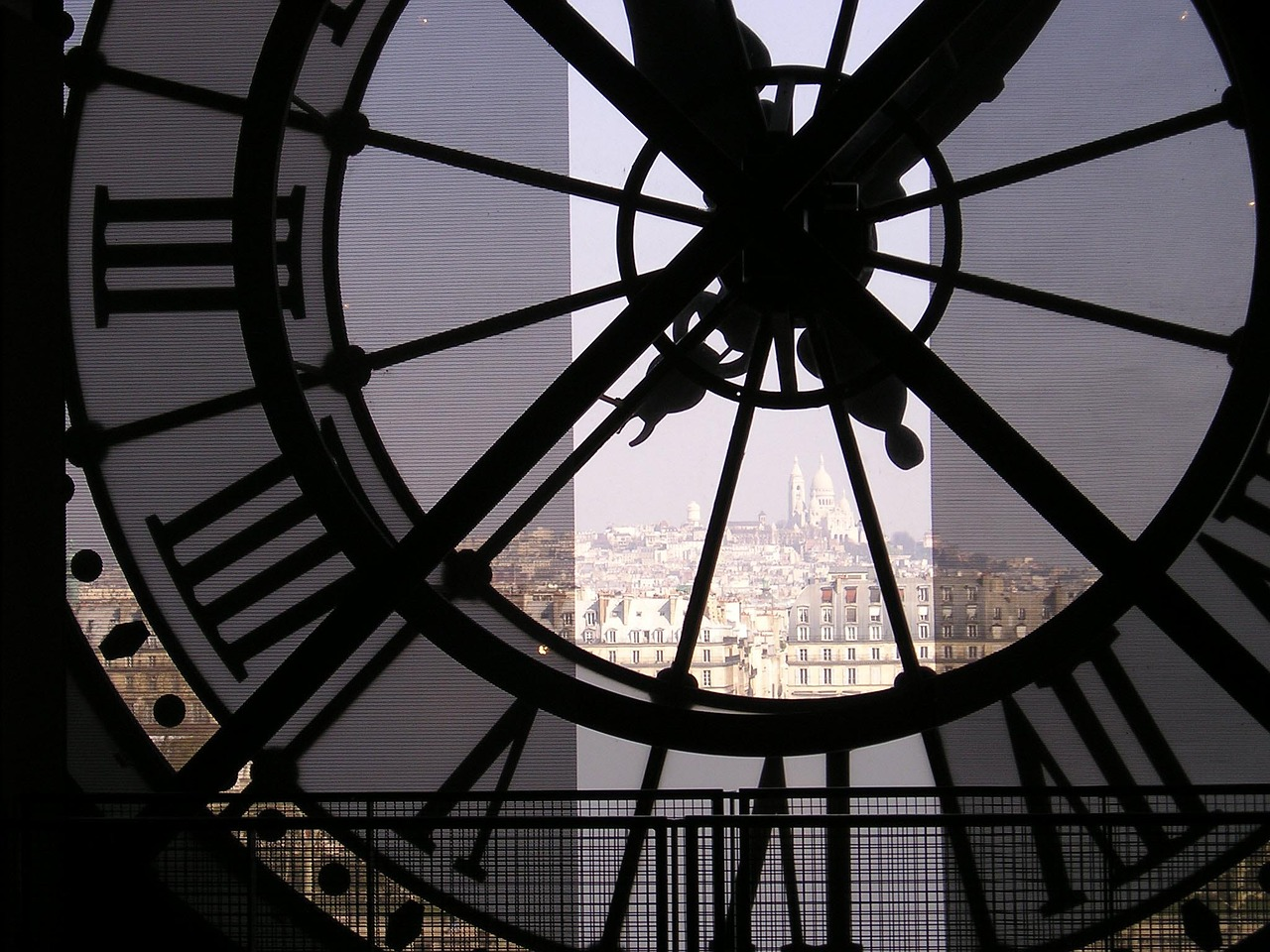 Grande horloge du Musée d'Orsay