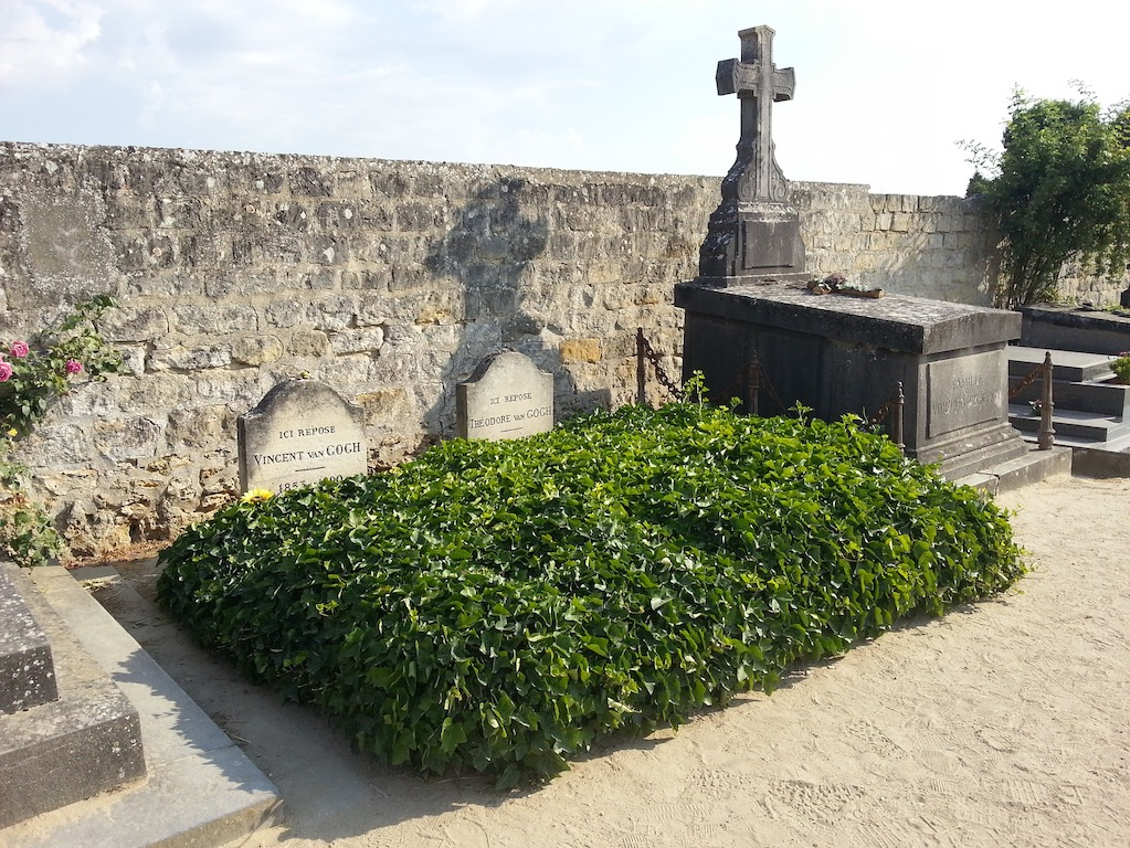 Tombe de Van Gogh à Auvers