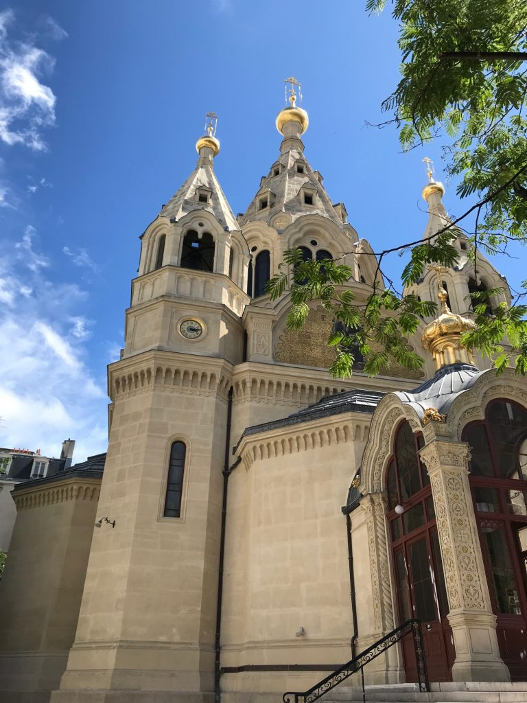 église russe saint Alexandre Nevsky