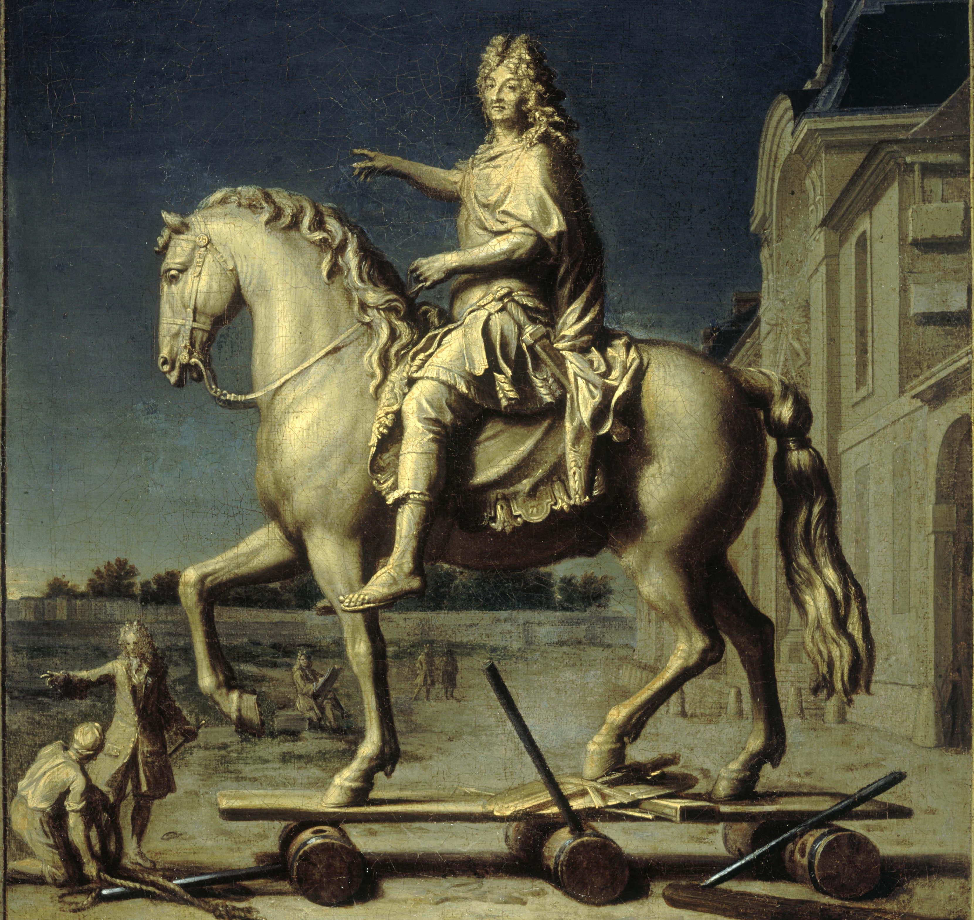 Transport de la statue