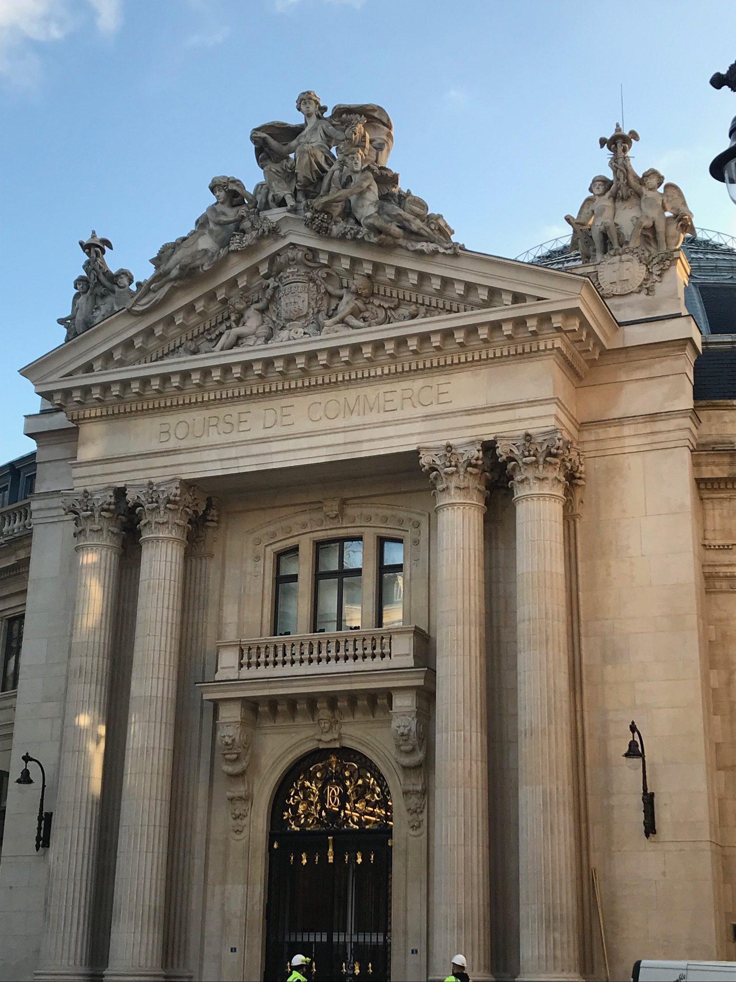 Bourse de Commerce Fondation Pinault - photo Les Bonnes Visites