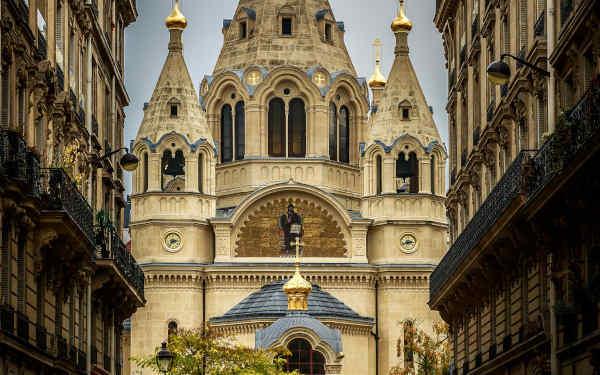 La cathédrale russe